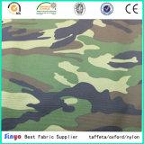 Высокопрочный PVC 600d подпирая Coated тканье ткани полиэфира сплетенное камуфлированием