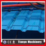 La buona qualità ha lustrato la formazione del rullo delle mattonelle di tetto fatta a macchina in Tianyu