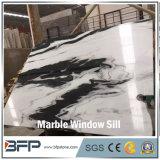 Мрамор Polished панды M298 верхнего сегмента белый для силла окна и отличаемой стены