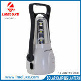 luz que acampa recargable de 12PCS SMD LED