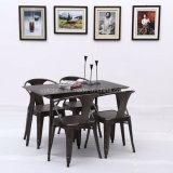 도매 튼튼한 금속 다방 대중음식점 테이블 및 의자 (SP-CT763)