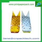 カスタマイズされた印刷されたポップコーンのかわいい魚袋キャンデーのお菓子屋の紙袋