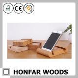 Самомоднейший держатель телефона древесины бука типа для декора или подарка