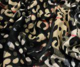 Lenço da cópia do leopardo das mulheres, lenço de imitação da caxemira