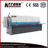 Installazione facile della ghigliottina delle cesoie di acciaio della macchina per il taglio di metalli idraulica della lamiera