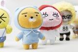 Het verschillende Stuk speelgoed van de Pluche van het Karakter In het groot voor Doel Pomotional