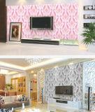 Papel pintado impermeable barato 2017 del PVC de Guangzhou 3D para los materiales de construcción