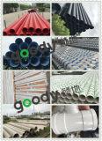 Pipe en plastique ondulée de double mur de l'utilisation PVC-U de système de drainage