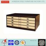 Стальная офисная мебель шкафа чертежей с вертикальными комодом/шкафом для картотеки плана для рынка Geman
