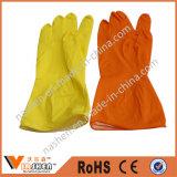 Длинние перчатки резины запитка и чистки тумака