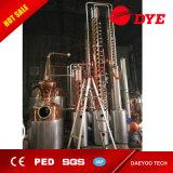 Whisky, Vodka, Brandy Distiller Copper Álcool Distilling Equipment for Sale