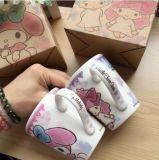 Taza de regalo de café porcelana al por mayor en una caja de regalo