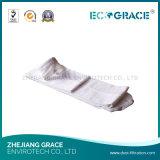 Sacchetto filtro molto forte del collettore di polveri di resistenza termica PTFE per industria in Cina
