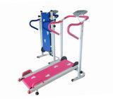 Mini tapis roulant manuel de gymnastique de forme physique de matériel de corps de séance d'entraînement à la maison de construction