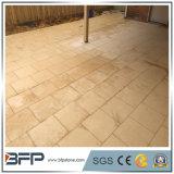 Paver de pavimentação irregular da pedra calcária das telhas da alta qualidade com baixo preço