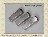 Tuyauterie en acier décorative carrée de l'acier inoxydable 201
