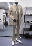 Костюм горячего Groom сбывания Striped & сделано измерить костюмы людей венчания дела