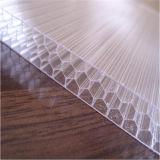 UV-Überzogenes Bienenwabe-Polycarbonat-Blatt-Baumaterial