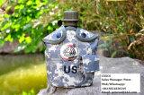 Copo militar do alumínio da garrafa de água de Camo da cantina do exército