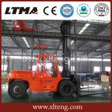 Chinesisches Ltma 10 Tonnen-Dieselgabelstapler mit Fahrerhaus