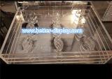 Изготовленный на заказ акриловая коробка хранения плетки