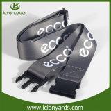 Muestra libre del poliester del entrecruzamiento de la correa ajustable del equipaje