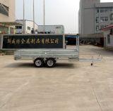 Remorque de camion-citerne d'essence pour le transport lourd