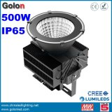 5 ans de garantie 25 60 90 degrés IP65 imperméabilisent la lumière élevée intérieure de compartiment du watt DEL de l'éclairage 500W 500