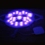 パーソナルケアのための紫系統の黄色灯3カラー療法のアクネマスク