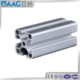 L'aluminium Grooved profile l'extrusion de encadrement structurale en aluminium