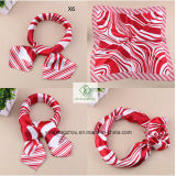 шарф квадрата подарка способа сатинировки 60*60cm Silk напечатанный Cravat