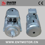 Motor eléctrico de la rueda de freno con la cubierta de la lluvia