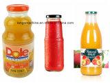 ガラスビンのための1つの微細な女中のオレンジジュースの充填機に付き4つ