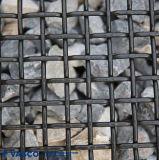 Rete metallica d'acciaio ad alto tenore di carbonio dello schermo della parte superiore piana di vendita calda