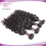cabelo malaio de Remy da onda natural do cabelo humano de Remy da classe 8A