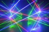 luz a todo color de la araña del laser de 640MW RGB