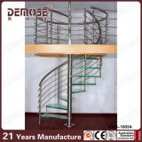 Escalera espiral de cristal de interior usada (DMS-1003)