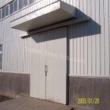 Edificio porta del almacén de la estructura de acero de la luz del marco con el mejor plan