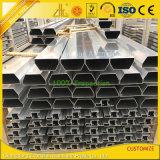 Profils anodisés enduits par poudre de Customzied en aluminium pour la construction et la décoration