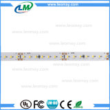 lumen flexible de la luz de tira de 140LEDs LED SMD3014 DC24V LED alto