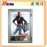 Outdoor Waterproof LED Light Box com moldura de alumínio e bloqueio