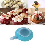 Stylo de silicone bleu mini pour décorateur de desserts