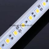 Tira rígida del aluminio 5050 LED de la alta calidad IP65 72LEDs/Meter