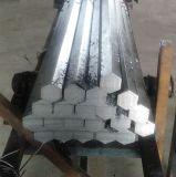 Холодно - нарисованная шестиугольная стальная штанга с свободно образцом