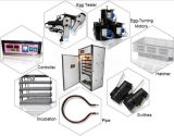 Incubateur automatique d'oeuf de caille de poulet hachant la machine au Malawi