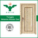 Дверь меламина Zhejiang Китая деревянная с твердым Woor