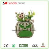 De decoratieve Hand Geschilderde Planters van de Schedel voor de Ornamenten van het Huis en van de Tuin