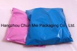 Sachet en plastique rose imperméable à l'eau fait sur commande pour l'emballage