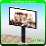 二重味方されたスクロールの掲示板を広告する屋外の家具によってバックライトを当てられるLEDライト
