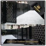 Fabrik-Preis-dekorativer Laser-Schnitt-Aluminiumgarten-Zaun-Panel für im Freien